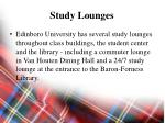 study lounges