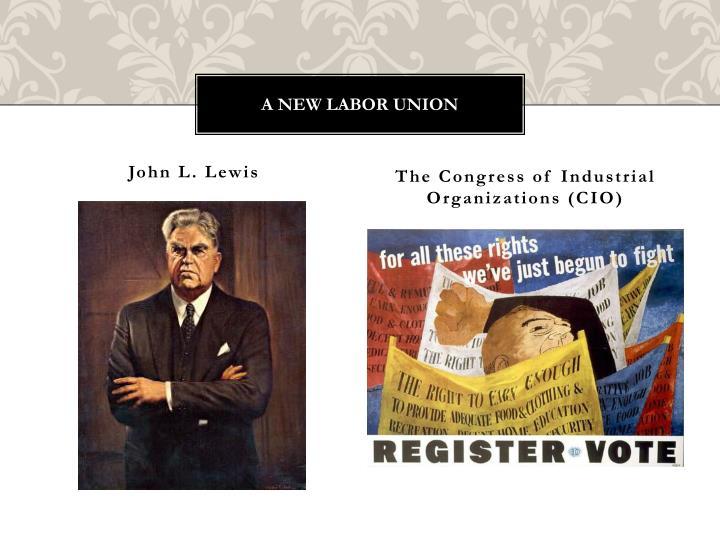 A new labor Union
