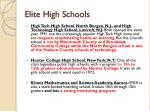 elite high schools