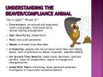understanding the beaver compliance animal