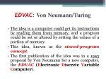 edvac von neumann turing