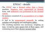 eniac details