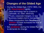 changes of the gilded age1