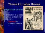 theme 1 labor unions2