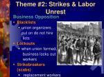 theme 2 strikes labor unrest1