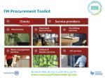 fm procurement toolkit