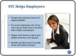 stc helps employers