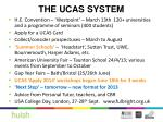 the ucas system