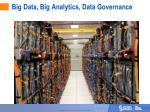big data big analytics data governance