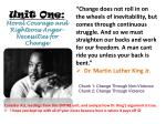 unit one moral courage and righteous anger necessities for change1