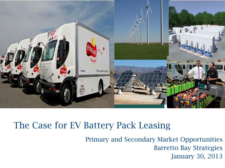 the case for ev battery pack leasing n.