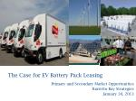 the case for ev battery pack leasing