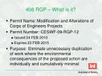 408 rgp what is it