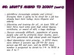 6 what s ahead to 2030 cont d