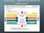case study wireless access point deployment