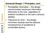 universal design 7 principles cont