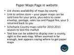 paper maps page in website1