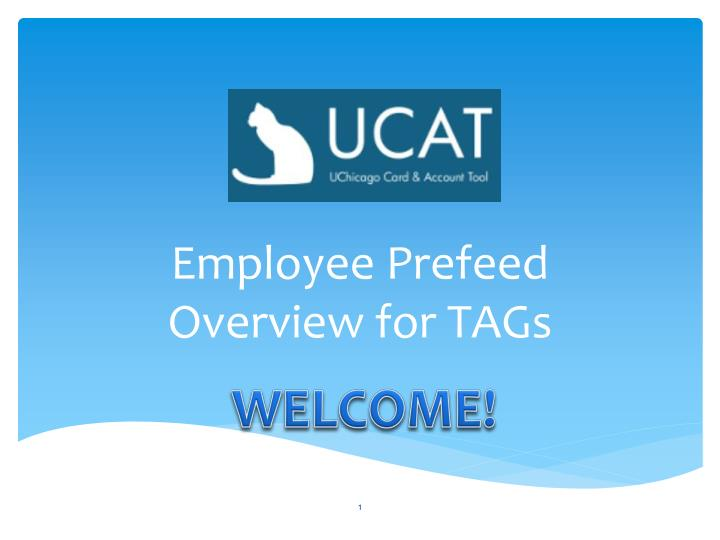 employee prefeed overview for tags n.