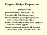 proposal budget preparation8