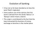 evolution of banking1