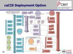 cacis deployment option