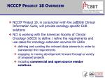 ncccp project 18 overview1