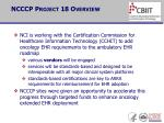 ncccp project 18 overview2