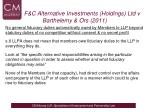 f c alternative investments holdings ltd v barthelemy ors 20112