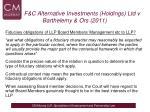 f c alternative investments holdings ltd v barthelemy ors 20113