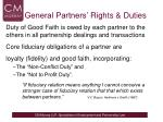 general partners rights duties1