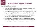 llp members rights duties1