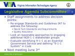 legislative agenda subcommittee1