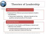 theories of leadership2