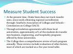 measure student success1