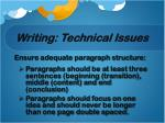 writing technical issues2