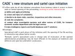 cade s new structure and cartel case initiation2