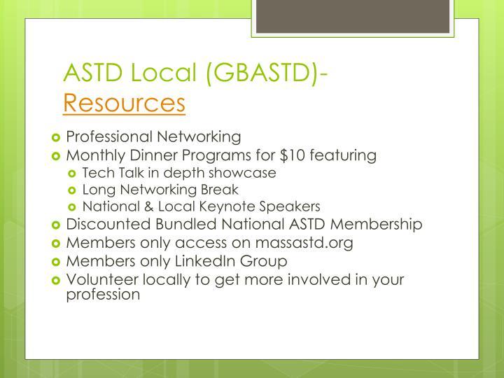 ASTD Local (GBASTD)-