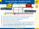 cross border double track rbc rbc handover