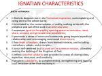 ignatian characteristics