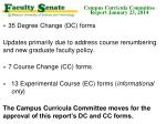 campus curricula committee report january 23 20142