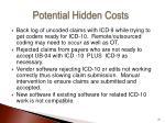 potential hidden costs
