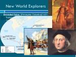 new world explorers