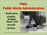 pwa public works administration