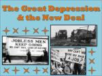 the great depression the new deal