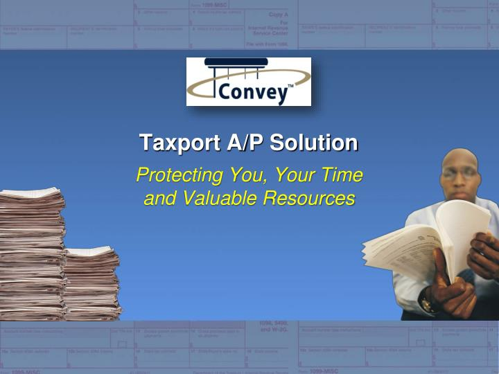 taxport a p solution n.