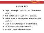 franking