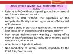 lapses noticed in major cash certificates cases po level1