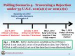 polling scenario 4 traversing a rejection under 35 u s c 102 a 1 or 102 a 21
