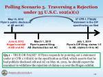 polling scenario 5 traversing a rejection under 35 u s c 102 a 1