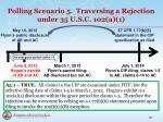 polling scenario 5 traversing a rejection under 35 u s c 102 a 11